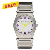 Marc Jacobs MBMJ 色彩潮流時尚腕錶-銀白 MBM3513