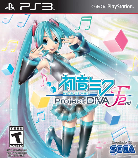 PS3 初音未來 -Project DIVA- F 2nd(美版代購)