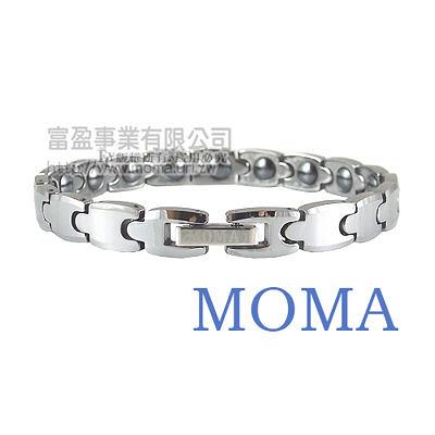 【MOMA】鎢鋼鍺磁手鍊子彈窄版-M81L