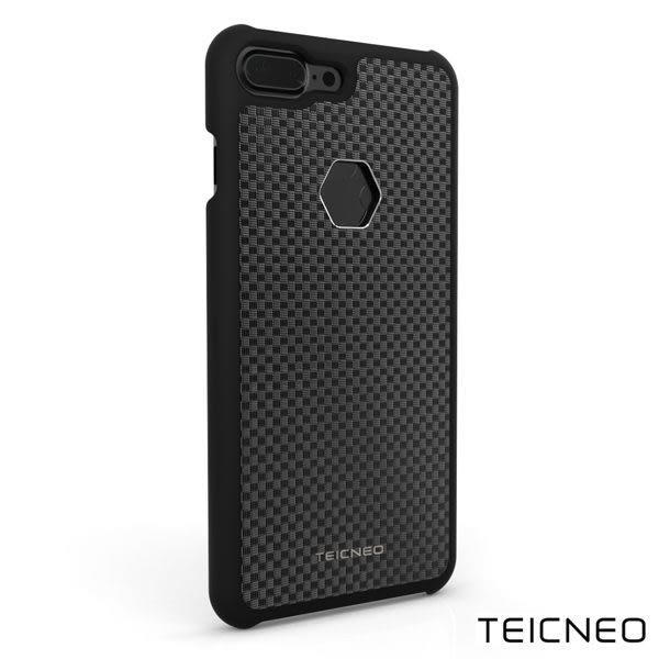 TeicNeo 航太鋁合金手機保護殼 - 紳士 (iPhone 7 Plus魔力黑) (OS 小舖)