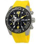 瑞士Invicta Pro Diver系列 休閒男士腕錶 22808 瑞士錶 計時碼表黑色錶盤男士手錶