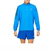 Asics I Con [2011B051-406] 男 平織外套 運動外套 海外版型 舒適 休閒 亞瑟士 天藍