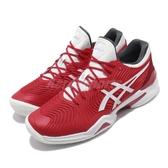 Asics 網球鞋 Court FF Novak French Open 紅 白 男款 法網公開賽 上海大師賽 運動鞋 【PUMP306】 1041A089603