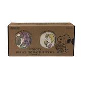 《SHO-BI》SNOOPY巧克力塊造型保濕沐浴錠組-清新好朋友(一組兩塊入)_SB06069