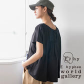 ❖ Must Buy ❖ 素面後抓縐造型寬板上衣 - E hyphen world gallery