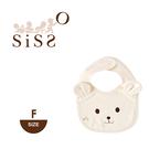 【SISSO有機棉】熱銷款↘有機熊熊圍兜 F