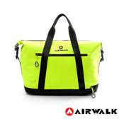 AIRWALK- 【禾雅】2015最新款 輕量級 - 大容量 - 防潑水旅行包 - 螢光黃、黑黃 二色(下標需備註)
