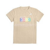 Asics 短袖T恤 2020 Olympic Tee 卡其 彩色 男款 短T 東京 奧運 運動休閒【PUMP306】 K1200302