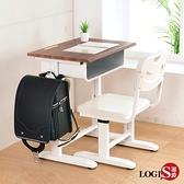 LOGIS- 微笑MIT黑胡桃兒童成長學習課桌椅 書桌椅CJ-022