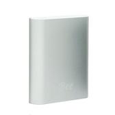 BEE 10400mAh 鋁合金行動電源 銀