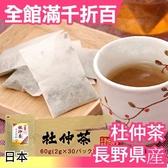 【長野県産 2gx30包】日本 養生杜仲茶 茶包 超值量販包 飲品 零食【小福部屋】
