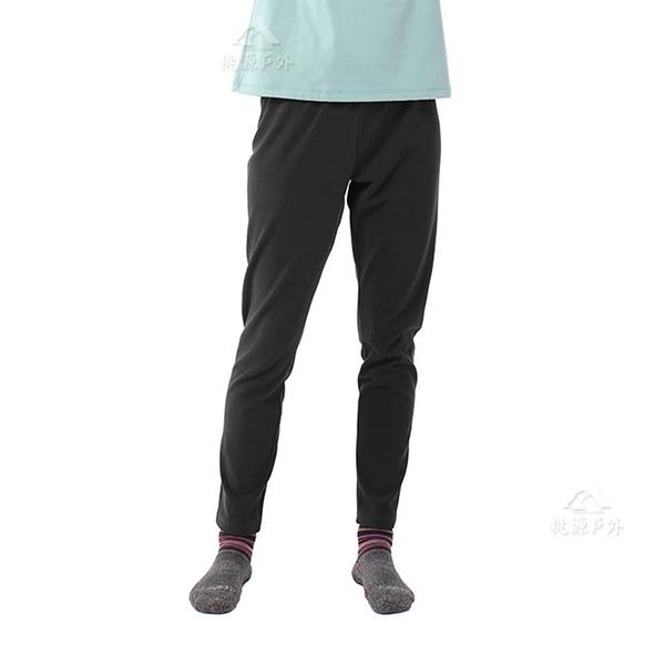 【TAKAKA】女 黃金絨保暖褲(內著)『夜空黑』Z82265 戶外 休閒 運動 露營 登山 吸濕排汗 透氣