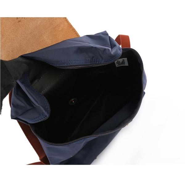 【LONGCHAMP】LE PLIAGE尼龍折疊後背包(海軍藍) L1699 089 556