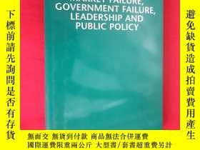二手書博民逛書店Market罕見Failure, Government Failure, Leadership and Publi