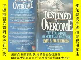 二手書博民逛書店destined罕見to overcome the techni