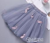 女童半身裙紗裙2020夏裝新款兒童蓬蓬裙女孩公主裙百搭洋氣短裙子 小城驛站
