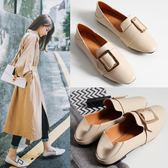 英倫風女鞋子2018夏季新款韓版平底單鞋