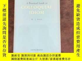 二手書博民逛書店Colloquial罕見iodomY198722 W.J. Ba