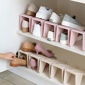 鞋子收納雙層鞋托鞋櫃鞋盒整理箱【步行者戶外生活館】
