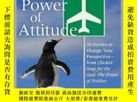 二手書博民逛書店Chicken罕見Soup for the Soul: The Power of AttitudeY41001