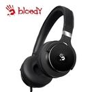 【Bloody】雙飛燕 M510 魔磁雙震模高質音樂耳機(黑 )-贈價值299 耳機展架