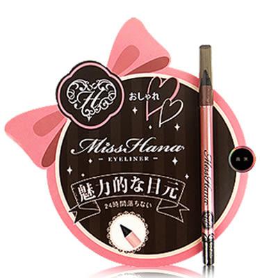 Miss Hana 花娜小姐 不暈染防水眼線膠筆1.3g / 萬標天后◆86小舖◆