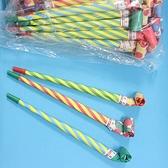 紙吹龍 20cm 伸縮象鼻 聲響長型吹龍(散裝)/10包共1000支入(定4) 派對童玩-AA6505.瑋