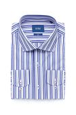 SST&C 男裝 直條藍色襯衫 | 0312003017
