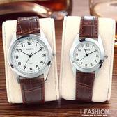 韓國時尚潮流手錶女學生韓版簡約情侶手錶一對皮帶男錶復古石英錶 Ifashion