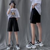 工裝短褲女夏季2020年新款寬鬆直筒潮ins中褲高腰港味運動五分褲 酷男精品館