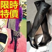 過膝馬靴-設計唯美皮革女長靴62l17【巴黎精品】