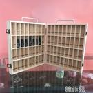 精油收納盒 精油木盒子 收納盒young living 精油木盒手提箱展示柜橡皮筋木盒 韓菲兒