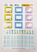 【震撼精品百貨】Pom Pom Purin 布丁狗~名牌貼紙#01529
