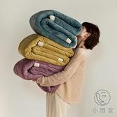日式吸濕復合休閒毯冬季加厚牛奶絨毛毯午睡辦公室沙發蓋毯【小酒窩服飾】