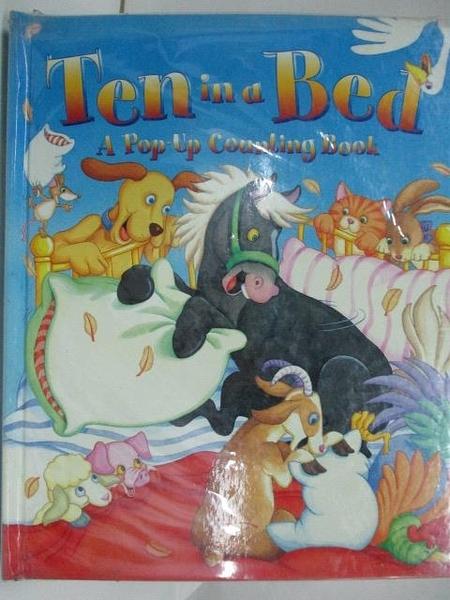 【書寶二手書T6/少年童書_DNF】Ten in a Bed-A pop up Counting book
