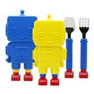 韓國 樂高機器人兒童餐具【美日多多】