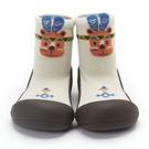 韓國 Attipas 快樂腳襪型學步鞋-印地安小熊