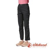 【wildland 荒野】女 SUPPLEX 抗UV功能調節長褲『烏紗色』0A91329 戶外 休閒 運動 吸濕 排汗 快乾