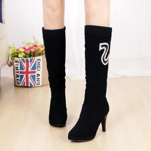 秋冬季新款時尚女靴子