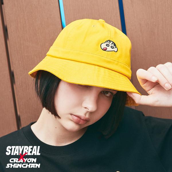 STAYREAL x 蠟筆小新 小新漁夫帽