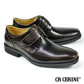【CR CERINI】小方頭商務孟克鞋 深咖(54533-MAR)