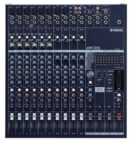 ﹝〝漢視科 技〞﹞舞台音響 YAMAHA EMX-5014C  功率混音器 混音機.廣播主機. 舞台擴大機叭