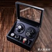 皮質搖錶器家用自動機械錶上鍊盒手錶收納盒馬達靜音轉錶盒 FF4585【男人與流行】