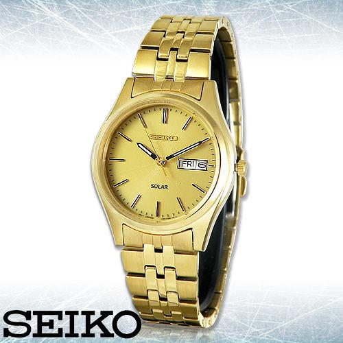 SEIKO 精工手錶專賣店 SNE036P1 男錶 太陽能電力 不鏽鋼錶帶 礦物玻璃鏡面 防水