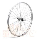 *阿亮單車*26吋淑女車經濟型鋁合金後輪,DIY的好選擇,銀色《A20-005-1》