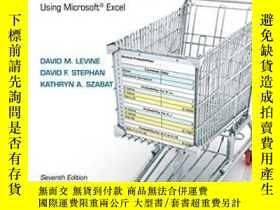 二手書博民逛書店Statistics罕見For Managers Using Microsoft Excel Plus New M