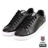 K-SWISS 新竹皇家 Clean Court 黑色 皮質 休閒鞋 男款 NO.A9441