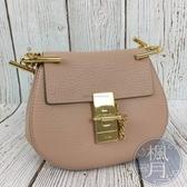 BRAND楓月 CHLOE 淡粉色 DREW MINI 小款 鍊包 側背包