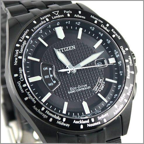 【萬年鐘錶】CITIZEN 光動能电波 男錶 CB0028-58E