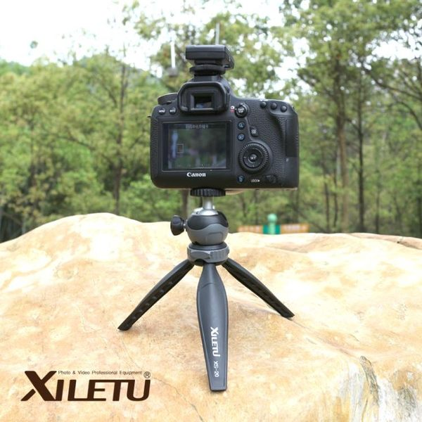 喜樂途XS-20 桌面三腳架 輕便迷你三腳架單反微單相機 手機三角架